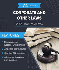 CA Inter Corporate and Other Laws Book By CA Preeti Aggarwal - Zeroinfy