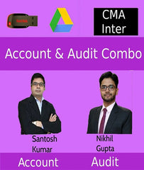 CMA Inter Accounts and Audit Full Course Combo By Santosh Kumar and Nikkhil Gupta by zeroinfy