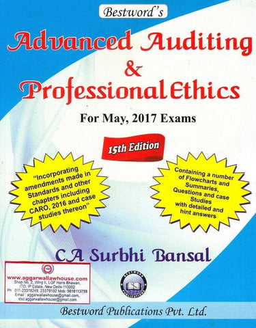 CA Final Advanced Auditing And Professional Ethics by CA Surbhi Bansal - Zeroinfy