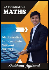 CA Foundation Business Maths Book By Prof Shubham Agarwal - Zeroinfy