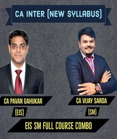 CA Inter EIS SM Full Course Combo By Pavan Gahukar and Vijay Sarda - Zeroinfy