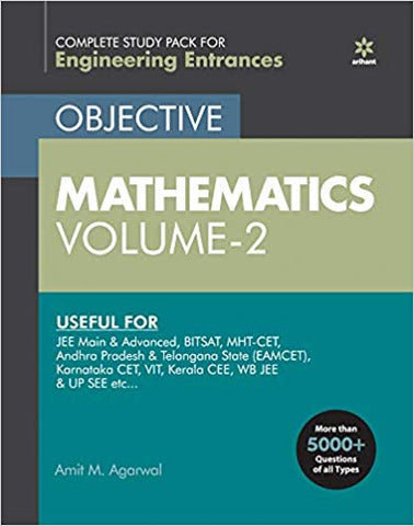 Objective Mathematics Vol-2 for Engineering Entrance Exams 2020 by Amit. M Agarwal - Zeroinfy