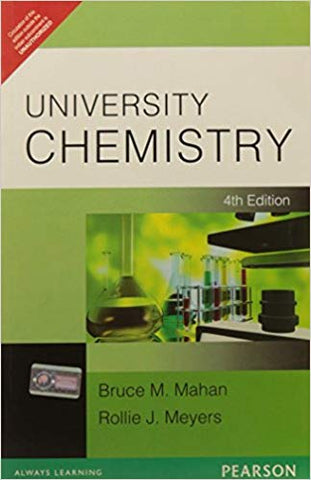 University Chemistry, 4th Edition (2009) by Mahan & Meyers - Zeroinfy