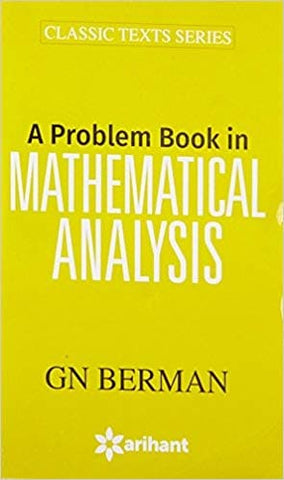 A Problem Book on Mathematical Analysis by GN Berman