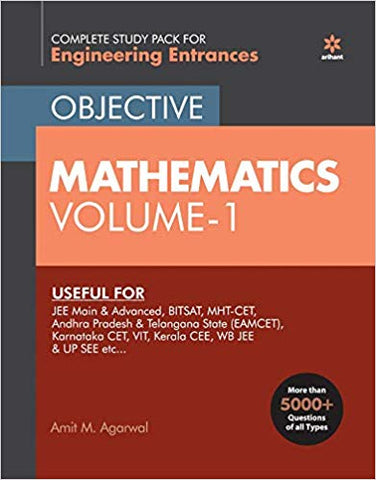 Objective Mathematics Vol-1 for Engineering Entrance Exams 2020 by Amit. M Agarwal - Zeroinfy