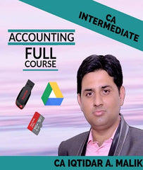 CA Intermediate Accounting Full Course Videos By Iqtidar A. Malik - Zeroinfy