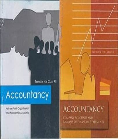 Accountancy Textbooks Class 12 Set Of 2 Books By Ncert - Zeroinfy