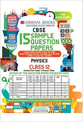 CBSE Sample Question Paper Class 12 Physics Book By Oswaal