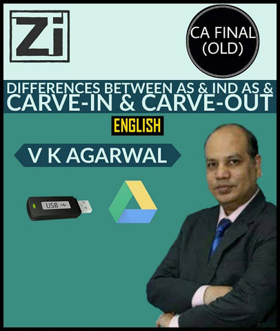 CA Final (Old)AS & IND AS & Carve-In & Carve-Out Videos By Vinod Kr. Agarwal - Zeroinfy