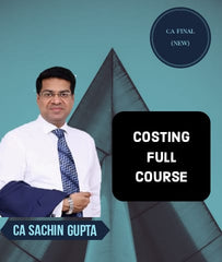 CA Final Costing Full Course By Sachin Gupta (New)