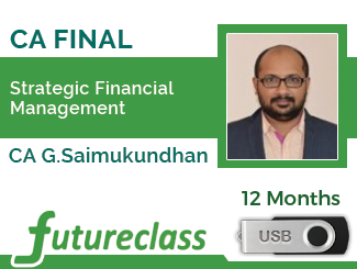 Strategic Financial Management by CA. G.Saimukundhan(PenDrive)