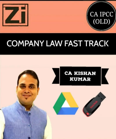 CA IPCC Company Law Fast Track Course Video By Kishan Kumar (Old) - Zeroinfy