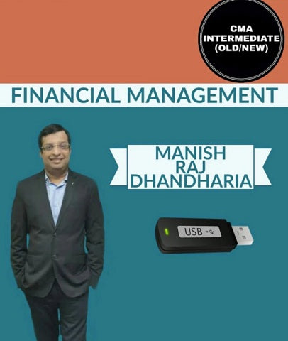 CMA INTER Financial Management Full Course by Manish Raj Dhandharia (Old/New) - Zeroinfy