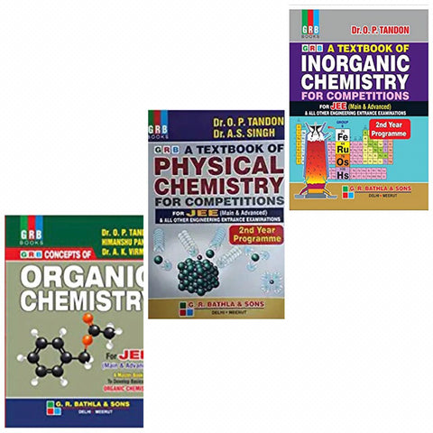 GRB Chemistry Concepts Bundle by O.P Tandon