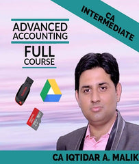 CA Intermediate Advanced Accounting Full Course Videos By Iqtidar A. Malik - Zeroinfy