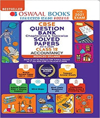 Question Bank Class 12 Accountancy Chapterwise & Topicwise Solved Papers (Reduced Syllabus) By Oswaal For 2021 Exam - Zeroinfy