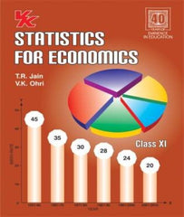 Statistics for Economics Class 11 (2020-21) First Edition By T R Jain