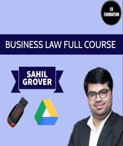 CA Foundation Business Law Full Course Video Lectures by  Sahil Grover - Zeroinfy