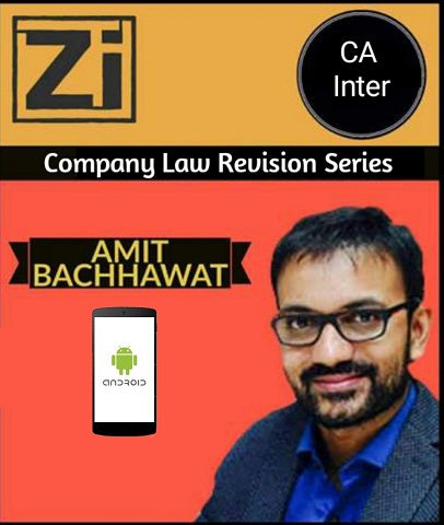 CA Inter Company Law Super Revision Series  By Amit Bachhawat - Zeroinfy