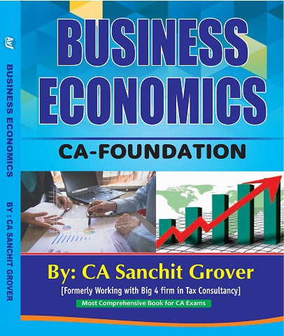 CA Foundation Business Economics Book By CA Sanchit Grover - Zeroinfy
