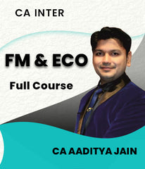 CA Inter FM and Eco For Finance Full Course By Aaditya Jain - Zeroinfy