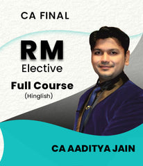 CA Final Elective Paper Risk Management Full Course By CA Aaditya Jain - Zeroinfy