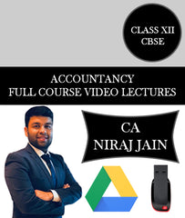 Class XII CBSE Accountancy Full Course Video Lectures By CA Niraj Jain - Zeroinfy