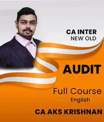 CA Inter and IPCC Auditing and Assurance Full Course By CA A.K.S.Krishnan (Old/New) - Zeroinfy