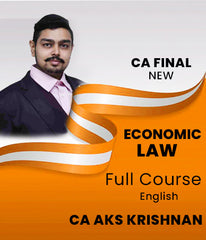 CA Final New 6D Economic Laws (Elective) Full Course By CA AKS Krishnan - Zeroinfy
