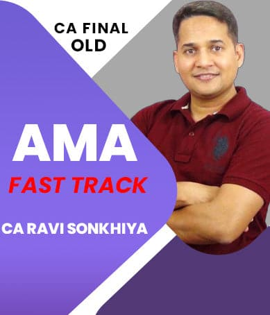 CA Final Advanced Management Accounting Fast Track By Ravi Sonkhiya (Old) - Zeroinfy