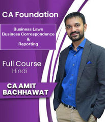 CA Foundation Business Laws and Business Communication (Only Guidance) Full Course By Amit Bachhawat