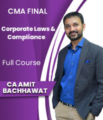 CMA Final Corporate Laws And Compliance Full Course By Amit Bachhawat