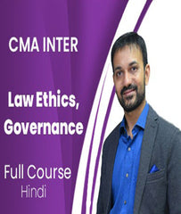 CMA Intermediate Law Ethics, Governance Full Course By Amit Bachhawat