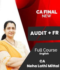 CA Final (New) FR And Audit Combo Full Course Video Lectures By Neha Lathi Mittal