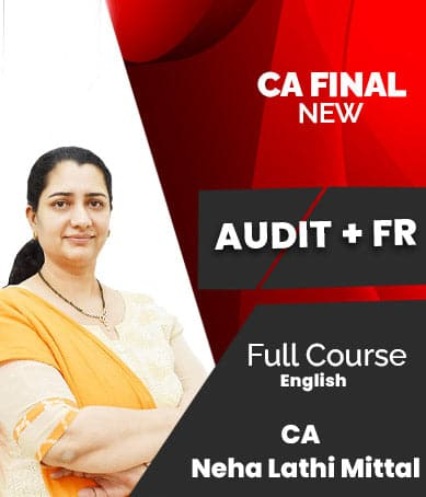 CA Final (New) FR And Audit Combo Full Course Video Lectures By Neha Lathi Mittal - Zeroinfy