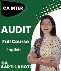 CA Inter Audit Full Course Videos By Aarti Lahoti - Zeroinfy