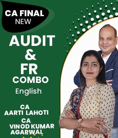 CA Final (New) FR & Audit Combo Full Course Videos By Vinod Kr. Agarwal & Aarti Lahoti - Zeroinfy