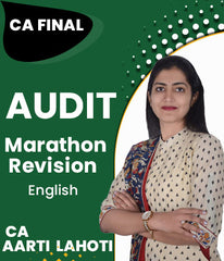 CA Final Audit Marathon Revision By Aarti Lahoti (New) - Zeroinfy