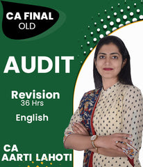 CA Final Audit Revision by Aarti Lahoti Old Syllabus (36 Hours) - Zeroinfy