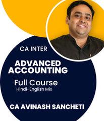 CA Inter Advanced Accounting Full Course By CA Avinash Sancheti - Zeroinfy