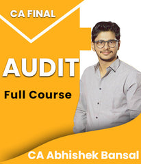 CA Final Audit Full Course By Abhishek Bansal - Zeroinfy