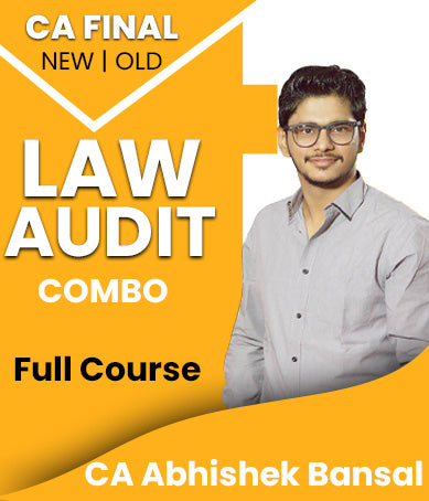 CA Final Law and Audit Full Course Combo by Abhishek Bansal(New/Old) - Zeroinfy