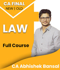 CA Final Law Full Course By Abhishek Bansal - Zeroinfy