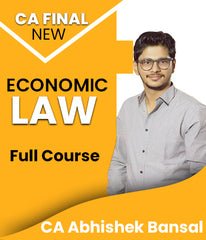 CA Final Economic Law (Elective) Full Course Video Lecture By Abhishek Bansal (New) - Zeroinfy