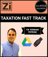 CA Inter/IPCC Taxation Fast Track Course Video By Kishan Kumar (Old/New) - Zeroinfy