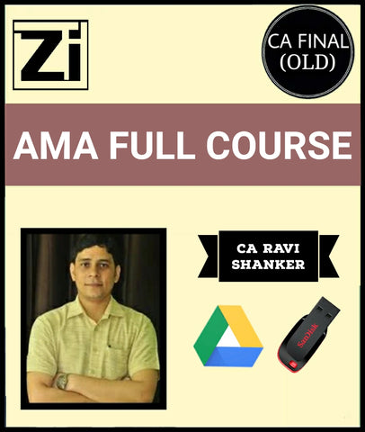 CA Final Advanced Management Accounting Full Course By Ravi Shanker (Old) - Zeroinfy