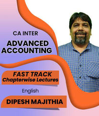 CA Inter Advanced Accounting Fast Track Chapter Wise Lectures By J.K.Shah Classes - Prof Dipesh Majithia - Zeroinfy