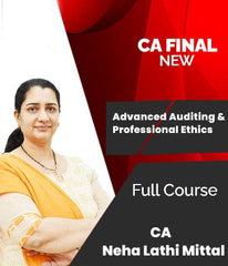 CA Final Advanced Auditing And Professional Ethics Full Course Videos By Neha Lathi Mittal (New)