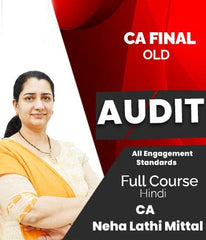 CA Final (Old) Audit - All Engagement Standards Full Course Videos By Neha Lathi Mittal - Zeroinfy