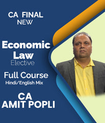 CA Final Elective Economic Law Full Course by Amit Popli - Zeroinfy